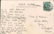 Gertie Meehan. Loreto Abbey, Gorey, Co. Wexford  1903 - 'Annie'     QR614