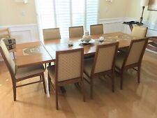 Vintage Danish Teak Gangso Mobler Dining Table with 8 chairs
