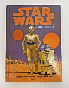 Star Wars A Pop Up Book 1978 Original In Pencik Wayne Douglas Barlowe