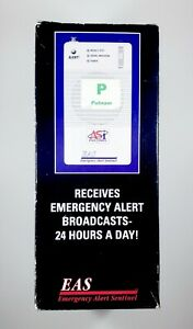 ASI Emergency Alert Sentinel EAS with FM/AM Radio - New in Box - Weather System