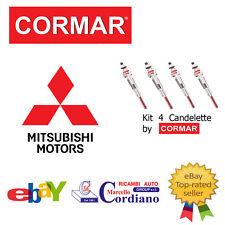 KIT 6 CANDELETTE MITSUBISHI PAJERO IV 3.2 DI-D V80 V90 DA ANNO 2007 CORMAR