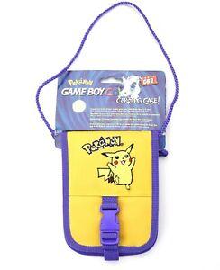 Game Boy Color GB2 Pokemon Pikachu Yellow & Purple Carrying Case