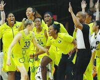 SAMI WHITCOMB Signed 8 x 10 Photo WNBA Basketball SEATTLE STORM Champs FREE SHIP