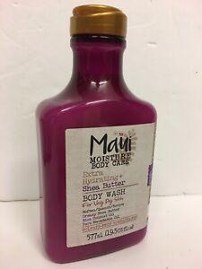 Maui Moisture Vegan Extra Hydrating SHEA BUTTER Body Wash For Dry Skin, 577ml.