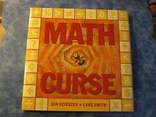MATH CURSE Jon Scieszka + Lane Smith HCDJ 1995 XLNT
