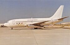 VISCOUNT B-737-200  Airplane Postcard