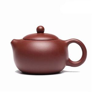 6.8oz zisha tea pot on sales Chinese yixing purple grit pot of tea for beginner