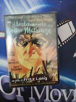 il Testamento Del Dottor Mabuse*A&R*DVD*
