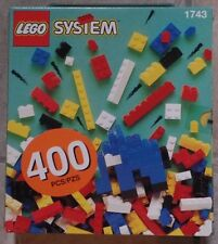 Lego Classic Set 1743 with 400 pcs Freestyle New Mint Sealed 1997