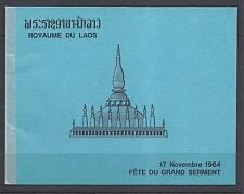 LAOS 1964 BUDDHA legend of PHRA VET SANDONE booklet (Sc 99a) VF read desc