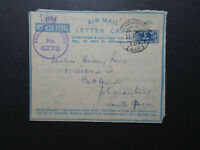 Egypt 1943 Active Service Censor Cover to South Africa / SA Postage - Z11541