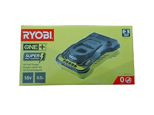 Ryobi 18V ONE+ 5.0 Amp Cordless Fast Power Charger - RC18150 BRAND NEW