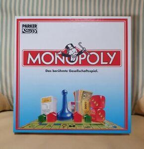 Parker - Monopoly - 1993 - DM Deutsche Mark D-Mark Ausgabe - Komplett Sehr gut