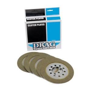 Drag Friction Plate Kit for Harley 1968-E84 Shovelhead 1131-0422 Clutch Plates