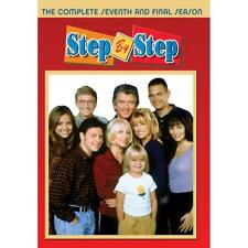 Step By Step: The Complete Seventh Season 7 (DVD, 2020, 2-Disc Set) Brand New