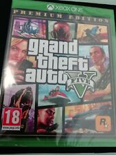 NEW Grand Theft Auto GTA V 5 PREMIUM EDITION  (XBOX ONE) New & Sealed,