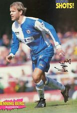 Henning Berg (Blackburn Rovers) signed picture