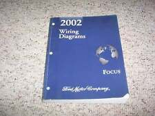 2002 Ford Focus Electrical Wiring Diagram Manual SE ZTW ZX3 ZX5 SVT LX SE ZTS