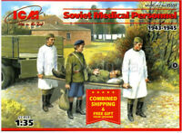 ICM 35551 - 1/35 Soviet Medical Personnel 1943-1945 WWII, plastic model kit