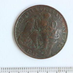 Australia 1857 HOLLOWAY TOKEN PILLS AND OINTMENTS Token 1857(KY71)