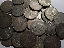 1x Silver Dollar AG-G Random Date Circulated Grade Morgan Estate Lot - One Coin