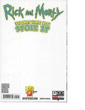 Rick And Morty de Bolsillo Like Tu Chal en #1 Liso Supercon Exclusiva 9.6-9.8