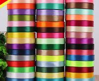 25 Yards (25mm) Satin Ribbon Wedding Party Decoration Sewing Many Colors Pick