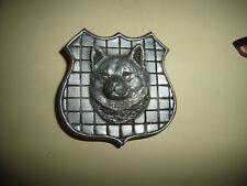 Silver Metal Akita?, Shiba? Belt Buckle