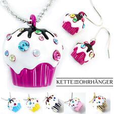 Modeschmuck-Halsketten & -Anhänger aus Messing mit Strass-Perlen für Damen