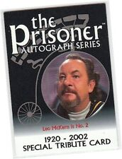 Prisoner Volume 1 (One) - PA10 Leo McKern - No. 2 Special Tribute Card
