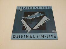 THEATRE OF HATE - ORIGINAL SIN - LIVE - LP 1985 DOJO RECORDS MADE IN UK NEW WAVE