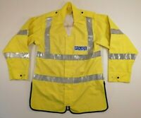 Genuine British Police over Jacket Officer's Highly Visible Reflective light M-L