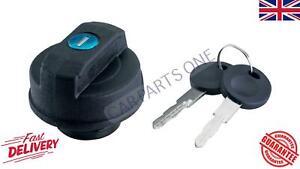 Locking Petrol Diesel Fuel Filler Cap & Keys For Audi Opel Seat Vauxhall VW