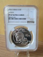 1984 China  Silver Proof Panda--NGC PF 67 Ultra Cameo--10 Yuan