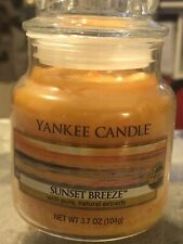Yankee Candle ~  SUNSET BREEZE  SMALL JAR CANDLE SET 3.7 Oz