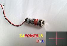 1pc 3-6V 5mw 650nm Adjustable Cross Red Laser Line Module Laser Head