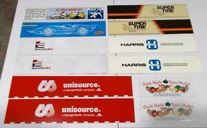 Winross Truck Side Panels Unisource, Super Tire, Harris, Shady Maple, Spector