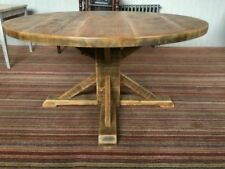round rustic dining tables tables for sale ebay rh ebay co uk