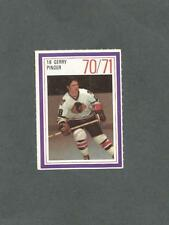 1970-71 Esso Hockey Stamp Gerry Pinder Chicago Black Hawks