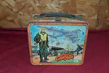 1959 Steve Canyon Milton Caniff Aladdin Metal Old Vintage Lunchbox Lunch Box Kid