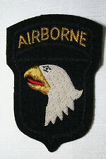 US  101st Airborne Division gold Bullion Patch