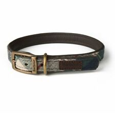 Land Rover New Genuine Barbour Leather Tartan Dog Collar Large 51BEPT284MXE