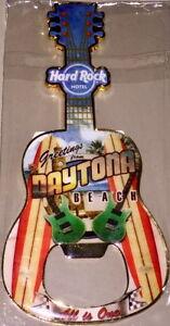 Hard Rock Hotel DAYTONA BEACH 2018 Guitar MAGNET Bottle Opener V18 City T-Shirt