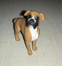Retired Schleich Boxer Dog Pet Animal Toy Figure