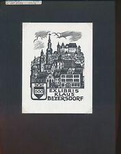 EX04847 EX Libris Herbert OTT 1985 Klaus Beyersdorf Opus 950 fine X2