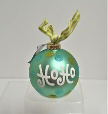 """Coton Colors Just Engaged~ Glass Christmas Ornament~ BRAND NEW IN BOX 4/"""""""
