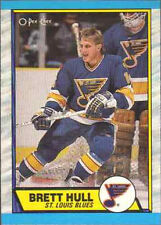 Autograph Brett Hull Not Authenticated Hockey Trading Cards