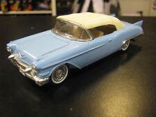 Solido Cadillac Eldorado Biaritz Cabriolet 1:43 blauw gesloten