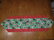 Christmas Table Runner - Rudolph & Clarise