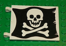 LEGO 6285 - Flag 6 x 4 with Jolly Roger / Flag 6 x 4 w/ Skull and Crossbones